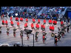 Edinburgh Military Tattoo 2012 - Massed Pipes and Drums (1 of 3) - YouTube