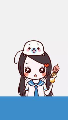 Cute Couple Cartoon, Cute Couple Art, Anime Couples, Cute Couples, Lockscreen Couple, Cute Couple Wallpaper, Manga Cute, Kawaii, Couples Images