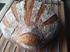 Griechisches Landbrot Ψωμιά Χωριάτικα Witch, Greek Language, Bread, Baking, Rezepte