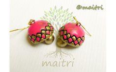 Small Size Terracotta Earrings