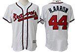 Hank Aaron Atlanta Braves Sewn Jerseys