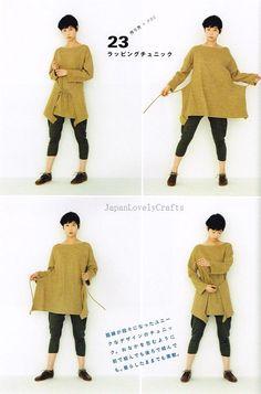 Apron & Apron Dress by Yoshiko Tsukiori - Straight Stitch Sewing - Japanese Pattern Book for Women Clothing - B1299-55   Flickr - Photo Sharing!