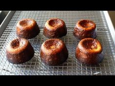 Food Wishes Video Recipes: Canelés de Bordeaux (Crispy Baked French Custards) – Hold the Mold!