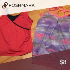 WORKOUT TANK BUNDLE PRICED TO GO SIZE M UA and RBX Tops Tank Tops