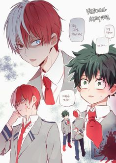 OH SHIT! (I will be alright if someone puts Momo in Izuku place BUT OTHER WISE DAYUM! TODOROKI CALM DOWN)