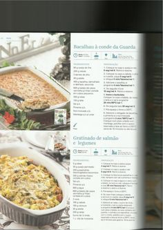 150 receitas as melhores de 2013 Portuguese Recipes, Portuguese Food, Happy Foods, Yummy Appetizers, Make It Simple, Seafood, Oatmeal, Food And Drink, Menu