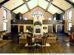 """Converting old churches into homes isn't all that unusual, as it turns out. I'm not sure where he got his data, but a Dallas realtor claimed that """"de-sanctified churches are the number-one type of building converted to residential use."""""""