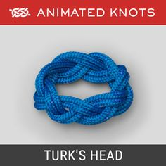 Learn how to braid, tie a Monkey's Fist, Chain Sinnet, Celtic Knot and a Turk's Head (Woggle) - and many more decorative knots. Paracord Knots, Rope Knots, Quick Release Knot, Splicing Rope, Animated Knots, Scout Knots, Lanyard Knot, Sailing Knots, Strong Knots