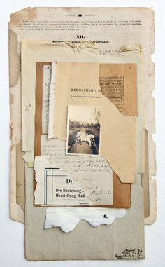 I like the combination of the photograph, the old paper texture, the hand written part but also you can see the letters of the book. Paper Collage Art, Paper Art, Brief Collage, Old Letters, Collage Design, Mixed Media Collage, Aesthetic Iphone Wallpaper, Collages, Medium Art