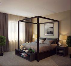 красивые спальни дизайн фото