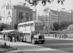 Autocarro 7, Alameda 1970 Fotografia do museu da Carris.