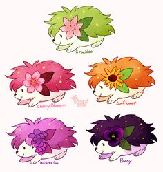 Cherry blossom one looks too cute! THEY ASK LOOK TOO CUTE