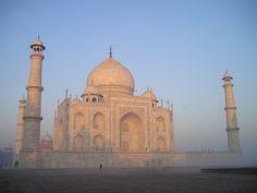 Taj Mahal, La India, Agra, Tumba, Graves, Sunrise