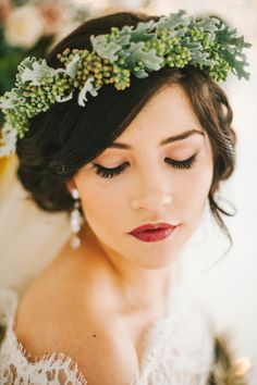 Wedding hair and makeup. Romantic Lit Bridals | utahbrideblog.com