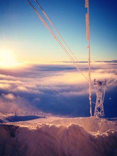 Snowboarding in Åre