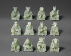 Twelve Animals of the Chinese Zodiac | China | Qing dynasty (1644–1911) | The Met