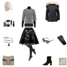 Outfit »Floral Winter«
