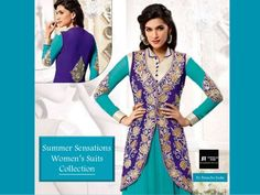 Kirti Senan Designer SkyBlue Anarkali Suit. log on to @ www.panacheindia.com #new #images #colorful #indian #bollywood #designer #latest #indianwear #india #indian #ethnic #ethnicwear #indianethnicwear #chudidar #anarkali #anarkalisuits #women #fashion #traditional #cultural #indiantradition #indianculture #unique