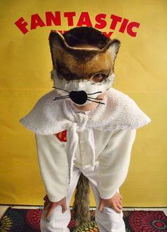 DIY Fantastic Mr. Fox Costume via Handmade Charlotte