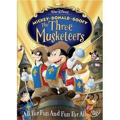 The Three Musketeers Walt Disney DVDS - wholesale Disney movies