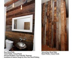 Good Wood Nashville: Walls