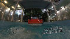 Aquaticum Family Slide (Night, Wellenrutsche) 360° VR POV Onirde Vr, Night