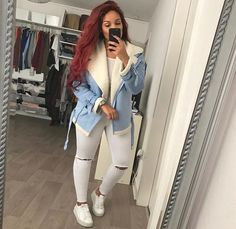 Keys To Finding The Best Sneakers For Women. Are you shopping for the best sneakers for women? If so, you will want to try to find some of the best options in the marketplace to ensure that you are ab Outfits Otoño, Casual Outfits, Fashion Outfits, Womens Fashion, Dope Fall Outfits, Casual Attire, Fall Winter Outfits, Winter Fashion, Luanna