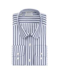 Suitsupply Purple Line extra slim fit shirt met club collar