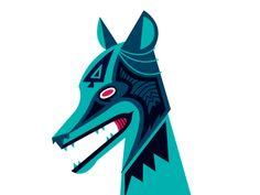 Coyote Illustration
