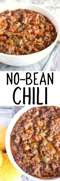 CHILI RECIPE NO BEANS - holy moly came out SO good!!! #chili #nobeanchili #paleo #glutenfree