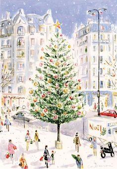 Urban Christmas...Traditional Christmas Tree..❤️