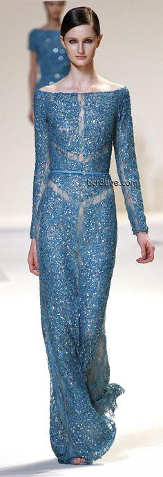 Elie Saab will design my #wedding dress!! >>>>  Elie Saab Spring Summer 2013 Ready to Wear