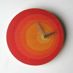 exzentrische Uhr