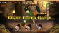 Anime Ninja | Eight Inner Gates | Naruto Game | Browser Online Game