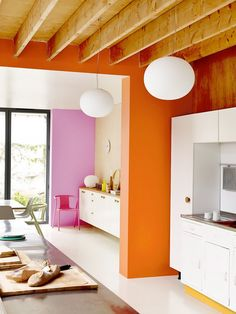 Home Interior Paint .Home Interior Paint Retro Home Decor, Home Decor Kitchen, Cheap Home Decor, Home Interior, Interior Architecture, Interior Decorating, Decorating Ideas, Interior Livingroom, Kitchen Interior