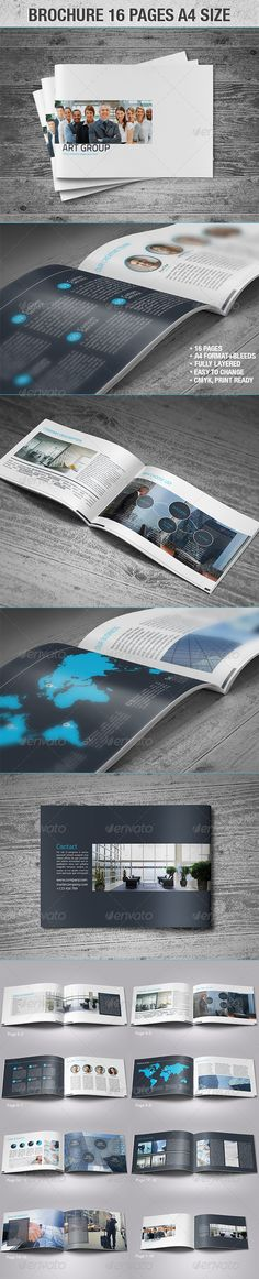 Brochure 16 Page A4 Size http://graphicriver.net/item/brochure-16-page-a4-size/4297653?WT.ac=portfolio_1=portfolio_author=Realstar