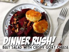 Beet Salad With Crispy Goat Cheese   Devour The Blog: Cooking Channels Recipe and Food Blog