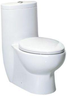 Amazon.com: EAGO TB309 Tall Dual Flush Eco-Friendly Ceramic Toilet, 1-Piece: Home Improvement. $428.74 (Amazon Prime)