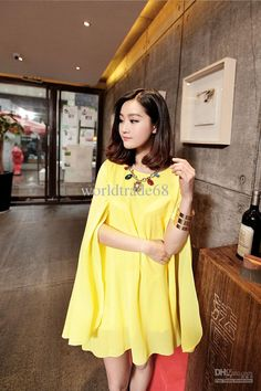 2016 Hot Sale Spring And Summer Maternity Clothing Plus Size Cloak Chiffon  Dress Prom Dress From 74bd08408772