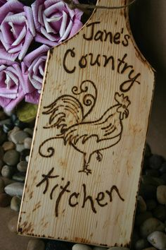 Personalized Kitchen Decor! Must have in my southern kitchen!