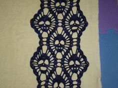 Ravelry: mrskawasaki's Black and Blue Skull Scarf