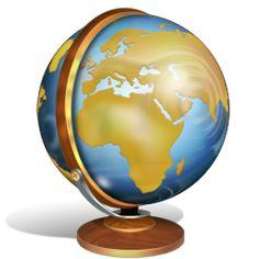 ícone de globo