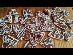 Gingerbread Cookies, Christmas Decorations, Sugar, Desserts, Cards, Food, Youtube, Xmas, Gingerbread Cupcakes
