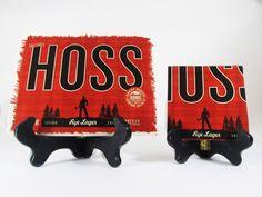Hoss Rye Lager Beer Coaster