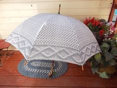 Vintage Umbrella /Not Included in Any Discount Coupon Sale by Daysgonebytreasures on Etsy