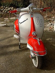 UK 1965 VESPA GS 160 by classic$owl, via Flickr