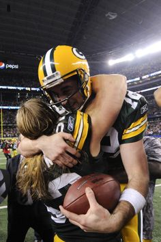 Clay Matthews and Aaron Rodgers