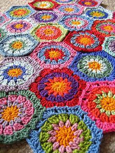 More Granny hexagons