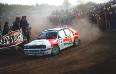 Lancia Delta Integrale rally car - Group A | WRC Rally School @ http://www.globalracingschools.com