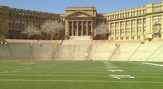 El-Paso-High-School.... Yes, this is a high school over looking the football field.